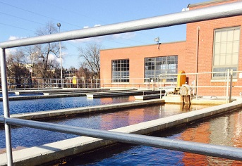 Danville Water Treatment Plant - Basin