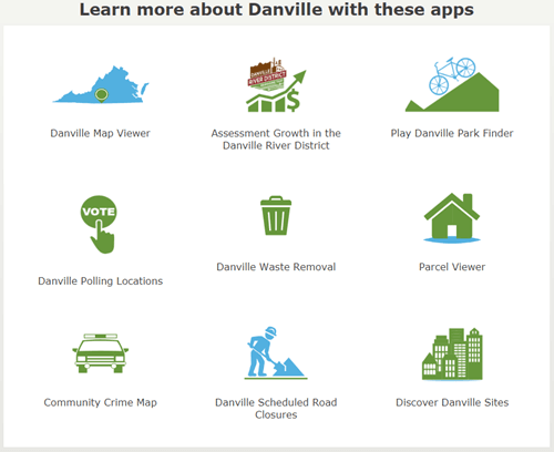 Danville Maps Opens in new window
