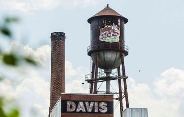 Davis Storage and River District Water Tower