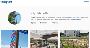 City of Danville Instagram page